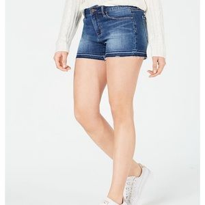 Articles of Society frayed hem denim shorts